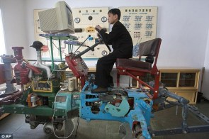 North Korean Tractor Simulator