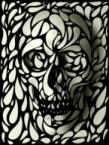 B/W Skull