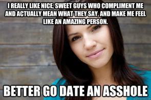 be an asshole