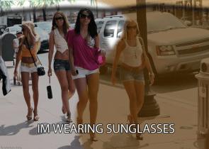 Men in sunglasses
