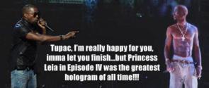 Kanye on Tupac's Hologram