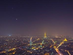 Planets over Paris