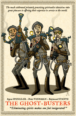 Steampunk Ghost Busters