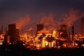 Grangemouth Oil RefineryScotland