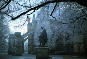 Frosted statues