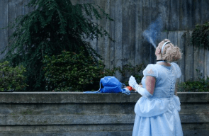 Cinderella smoke break