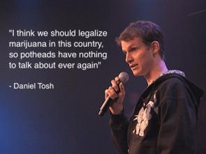 Tosh on marijuana