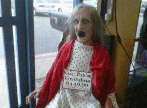 Crazy grandma $449.99