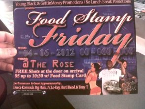Food stamp Friday!
