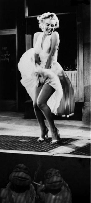 Marilyn Monroe Updraft