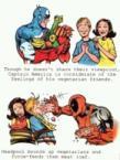 Deadpool on vegetarians