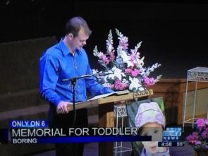 toddler memorial