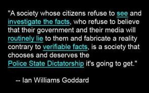 Ian Williams Goddard on Society