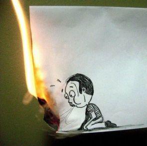 Paper Burner