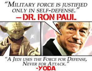 Ron Paul is a Jedi