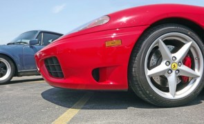 Stuff From today… Ferrari's, Porsches and hobo's
