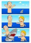shark prank