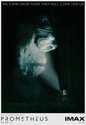 Prometheus IMAX Poster