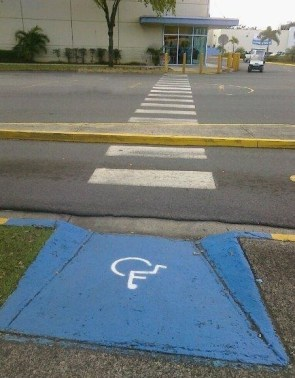 handicap crossing
