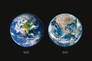 global warming changes the Earth