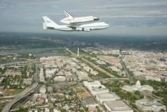 space flight over DC