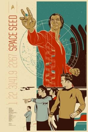 Mondo's Star Trek: Space Seed Poster