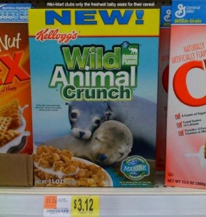 Wild Animal Crunch (now with more wild animals)