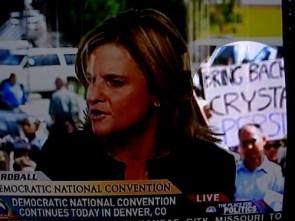 DNC Protester