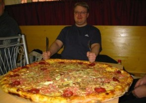 Extra-Large Pizza