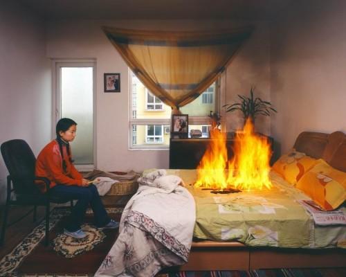 Burning Bed Myconfinedspace