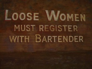 Loose Women Must Register With Bartender