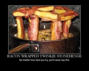 Bacon Twinkie Stonehenge