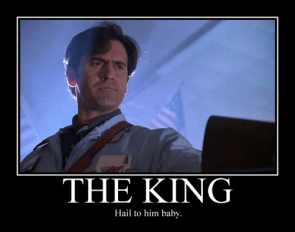 Hail to the king baby