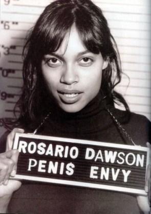 Rosario Dawson Penis Envy