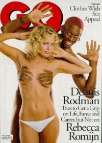Dennis Rodmans and Rebecca Romijn
