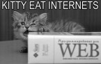 Kitty Eats Internets