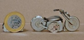 Bikes made from left-over watch pieces