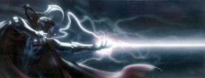 Dr. Strange sends a blast