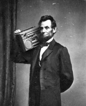 Abe Lincoln Block Rockin Beats