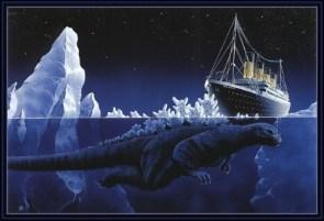 Godzilla vs Titanic