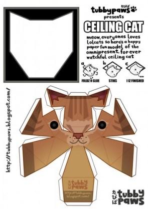 Ceiling Cat Cutout
