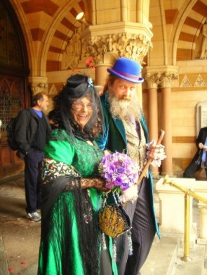 Alan Moore's Wedding