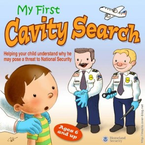 My First Cavity Search!