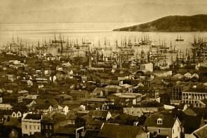 San Francisco harbor 1851