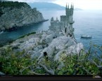 Black Sea Castle, Yalta, Russia/Ukraine, 1987