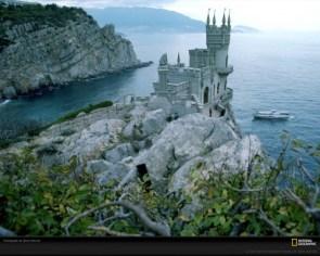 Black Sea Castle, Yalta, Russia/Ukraine, 1987