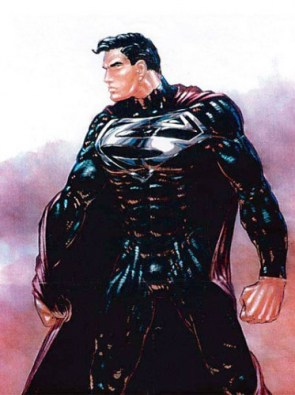 Superman – Black Costume