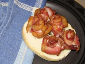 Bacon rosebuds