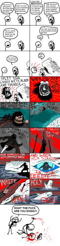 Blood and Thunder comic