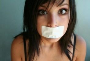 Silenced Girl
